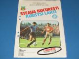 Program meci fotbal STEAUA BUCURESTI-KUUSYSI LAHTI (05.03.1986)
