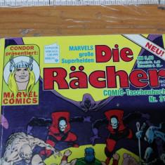 Comic Die Racher Nr. 31, Condor germana