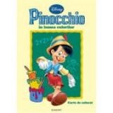 Pinocchio in lumea culorilor. Carte de colorat