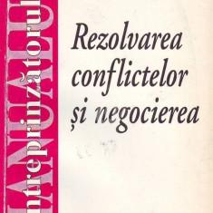 Rezolvarea conflictelor si negocierea