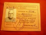 Legitimatie de calatorie -eliberata de Secretariat Stat pt.Handicapati 1996