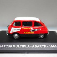 Macheta FIAT 750 MULTIPLA ABARTH 1960 scara 1:43 IXO