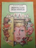 Carte pentru copii - peripetiile alisei in tara minunilor - din anul 1987