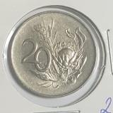 Africa de sud 20 centi  1965