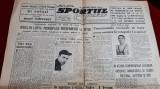 Ziar SPORTUL POPULAR 4 04 1946