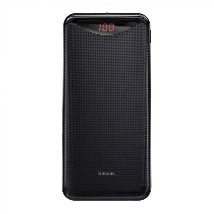 Acumulator extern Baseus PPLN-A01 Gentleman Digital Display 10000 mAh Black