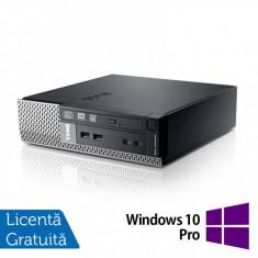Calculator Dell OptiPlex 7010 USFF, Intel Core i5-3475S 2.90GHz, 4GB DDR3, 120GB SSD + Windows 10 Pro