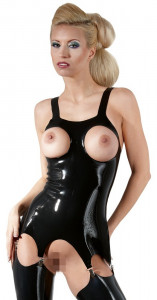 Corset Latex Topless