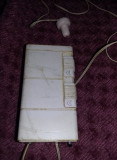 Aparat de radio vechi,RADIO RIC 3 ELECTRONICA,DE COLECTIE,ALB ,T.GRATUIT