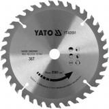 Disc circular pentru lemn 165 x 36t x 16mm Yato YT-60591