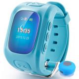 Ceas Smartwatch GPS Copii iUni U6, Localizare Wifi, Apel SOS, Pedometru, Monitorizare somn, Blue + Boxa Cadou