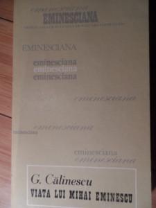 Viata Lui Mihai Eminescu - G.calinescu ,530807