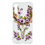 Cumpara ieftin Carcasa Husa Samsung Galaxy A7 2018 Model Flower Crown, Fosforescenta, Antisoc, Viceversa