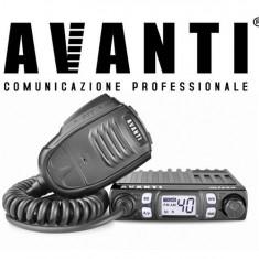 Statie Radio CB AVANTI Micro 4w -> 8w Autosquelch