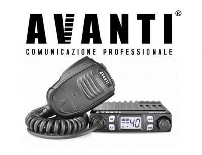 Statie Radio CB AVANTI Micro 4w -> 8w Autosquelch foto