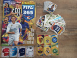Panini FIFA 365 2018 Album gol + 199 stickere nelipite
