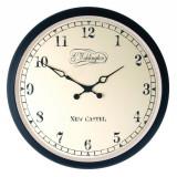 Ceas de perete NeXtime Aaltje 35cm metal - sticla negru