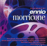 CD Ennio Morricone ‎– Film Music By Ennio Morricone, original