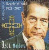 MOLDOVA 2018, Regele Mihai I, serie neuzata, MNH, Nestampilat