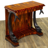 Consola Empire din lemn masiv furniruit CAT-BM-Fish-Console