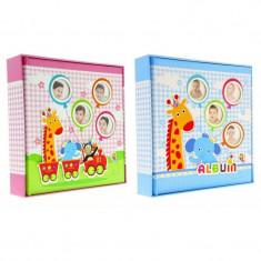 Album foto Baby Train personalizabil 50 file tip carte 200 poze format 10x15