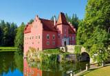 Puzzle Castorland 1000 Cervena Lotha Castle Czech Republic---