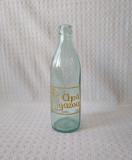 Sticlă  veche de apă gazoasă din perioada comunistă , sticlă veche de colecție