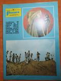 Revista flacara 19 iulie 1975-ceausescu la galati,dolj si insula mare a brailei