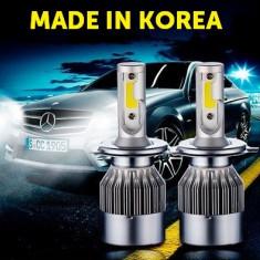Instalatie LED H1 - MADE IN KOREA - 12V-24V, 80W, 4800 lumeni, 6000K