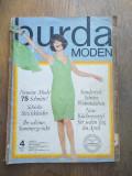 Cumpara ieftin Revista Burda, Nr 4/1966 / Tipar