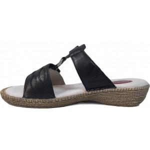 Papuci de dama Jana 8-8-27111-22 negru