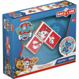 Set de constructie Geomag Magnetic Magicube Paw Patrol Marshall Rubble si Zuma