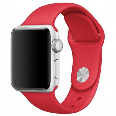 Curea silicon Tech-Protect Smoothband Apple Watch 1/2/3/4 (42/44mm) Red