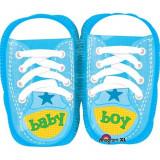Balon folie figurina botosei blue Baby Boy - 53 cm, Amscan 28816