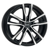 Jante SUZUKI SWIFT SPORT 2WD 7J x 17 Inch 5X114,3 et48 - Mak Milano Black Mirror - pret / buc
