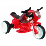 Motocicleta electrica pentru copii, carcasa iluminata Sport Hornet, rosu