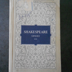 SHAKESPEARE - OPERE 3