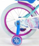 Bicicleta fete Volare Frozen 16 inch cu roti ajutatoare
