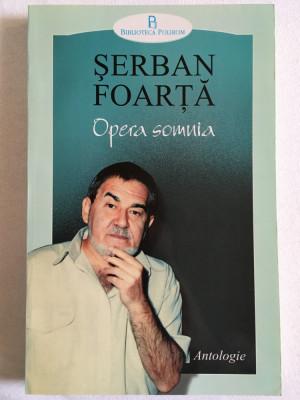 Serban Foarta - Opera Somnia - Polirom 2000 foto