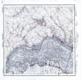 Harta Harsova si Cernavoda 1906 Institutul Geografic al Armatei