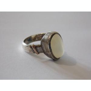 Inel argint vintage cu piatra lunii -704