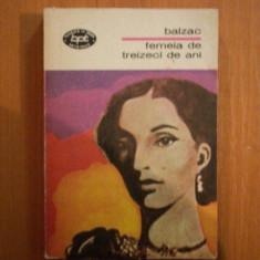 FEMEIA DE TREIZECI DE ANI de BALZAC 1971