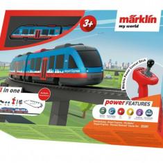 Tren de calatori cu telecomanda si accesorii Airport Express