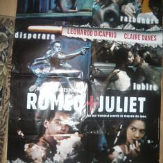 Afis Film  -Romeo si Julieta -1996 regizor Baz Luhrmann,cu Leonardo DiCaprio