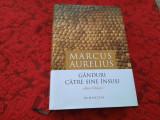 MARCUS AURELIUS GANDURI CATRE TINE INSUSI EDITIE DE LUX RF1/1, 1957
