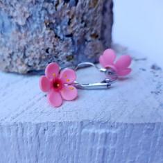 Cercei floare de cires