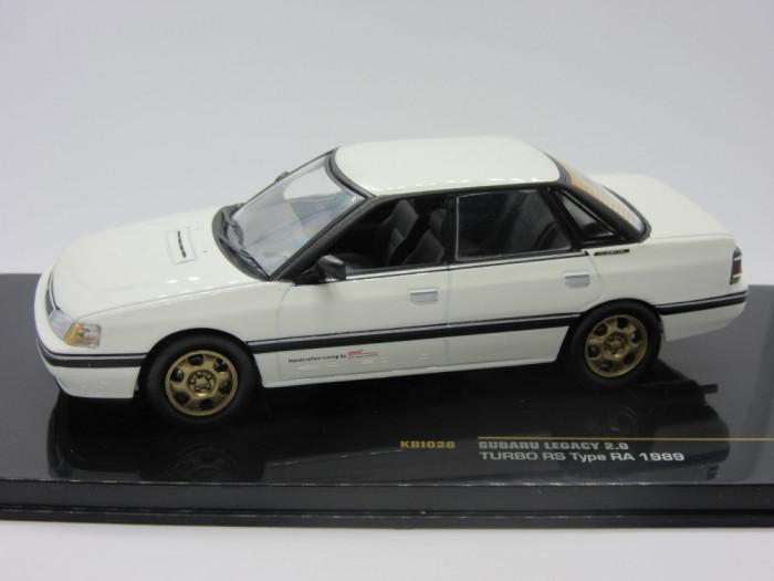 Macheta Subaru Legacy 2.0 Turbo RS 1989 IXO 1:43