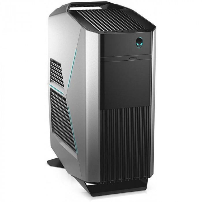 Sistem desktop Dell Aurora R7 Intel Core i7-8700 32GB DDR4 2TB HDD 256GB SSD Dual nVidia GeForce RTX 2080 OC 8GB Windows 10 Pro Black 3Yr NBD