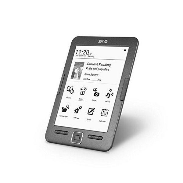 "SPC 5608N eBook Lector Dickens 6"" 8GB"