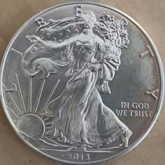 AMERICA, SUA 1 DOLLAR, DOLAR 2013, AG.999, KM#273, 31.10 gr (1oz), America Centrala si de Sud, Argint